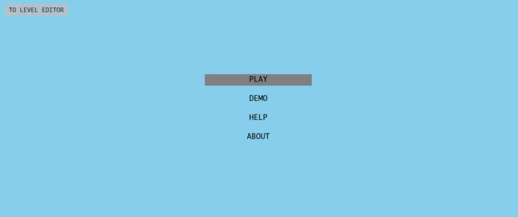 Neverball-Menu-page