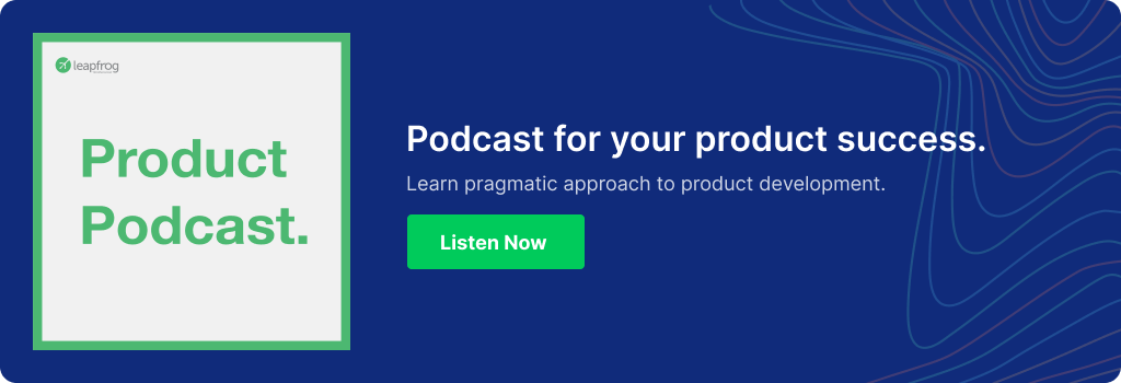 Footer CTA Product Podcast
