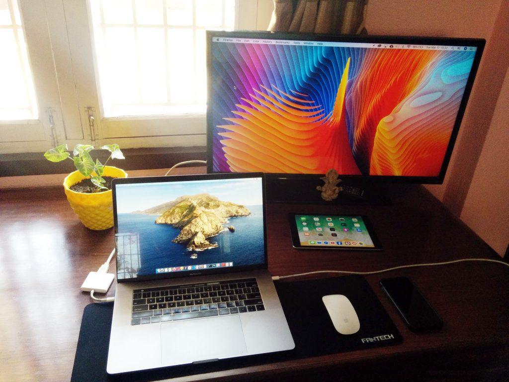 WFH setup