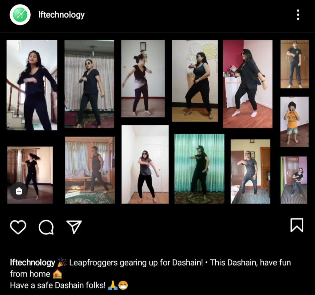 Virtual Dance during pandemic