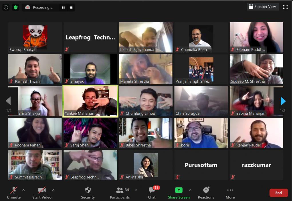 Leapfrog going Virtual
