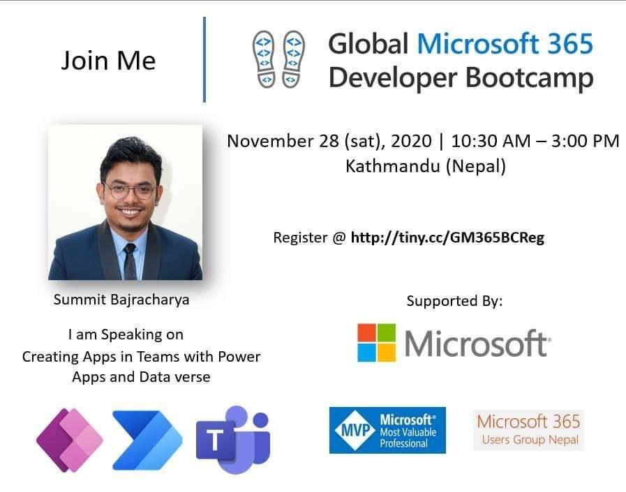 Global Microsoft 365 Developer Bootcamp